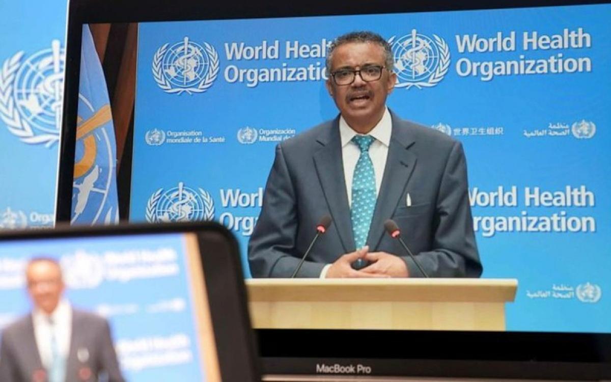 Tổng Giám đốc WHO tuyên bố, tổ chức này sẽ tiếp tục vai trò lãnh đạo chiến lược toàn cầu đối phó với đại dịch Covid-19. (Nguồn: Time).