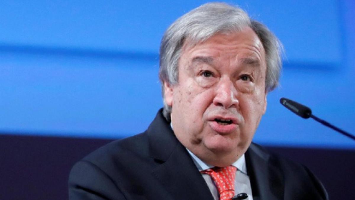 Tổng Thư ký Liên Hợp Quốc Antonio Guterres. Ảnh: Reuters