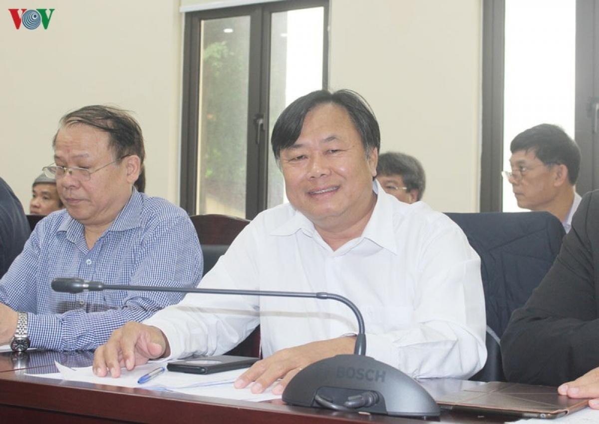 PGS.TS Nguyễn Quốc Dũng, Ủy viên Hội đồng Lý luận Trung ương, Giám đốc Học viện Chính trị khu vực IV.