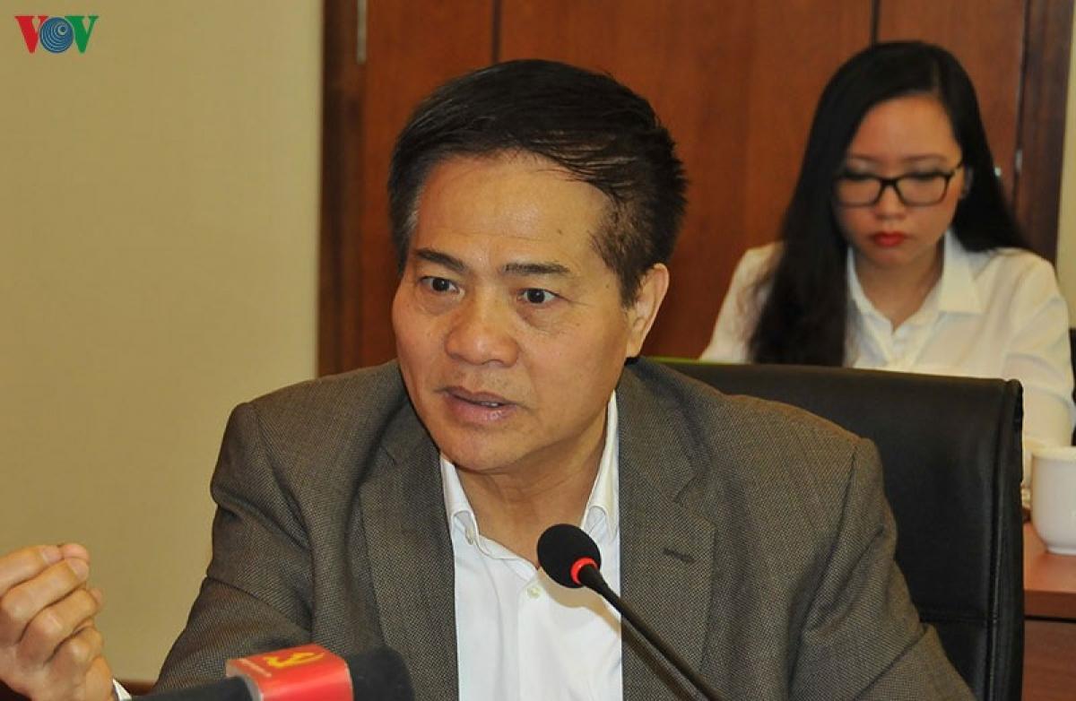 Ông Đào Duy Quát - nguyên Phó trưởng ban Thường trực Ban Tư tưởng Văn hoá Trung ương.