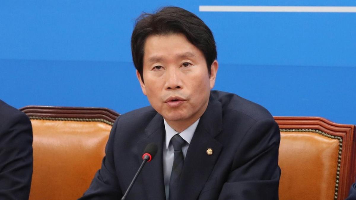 Bộ trưởng Thống nhất Hàn Quốc Lee In-young. Ảnh: Teller Report.
