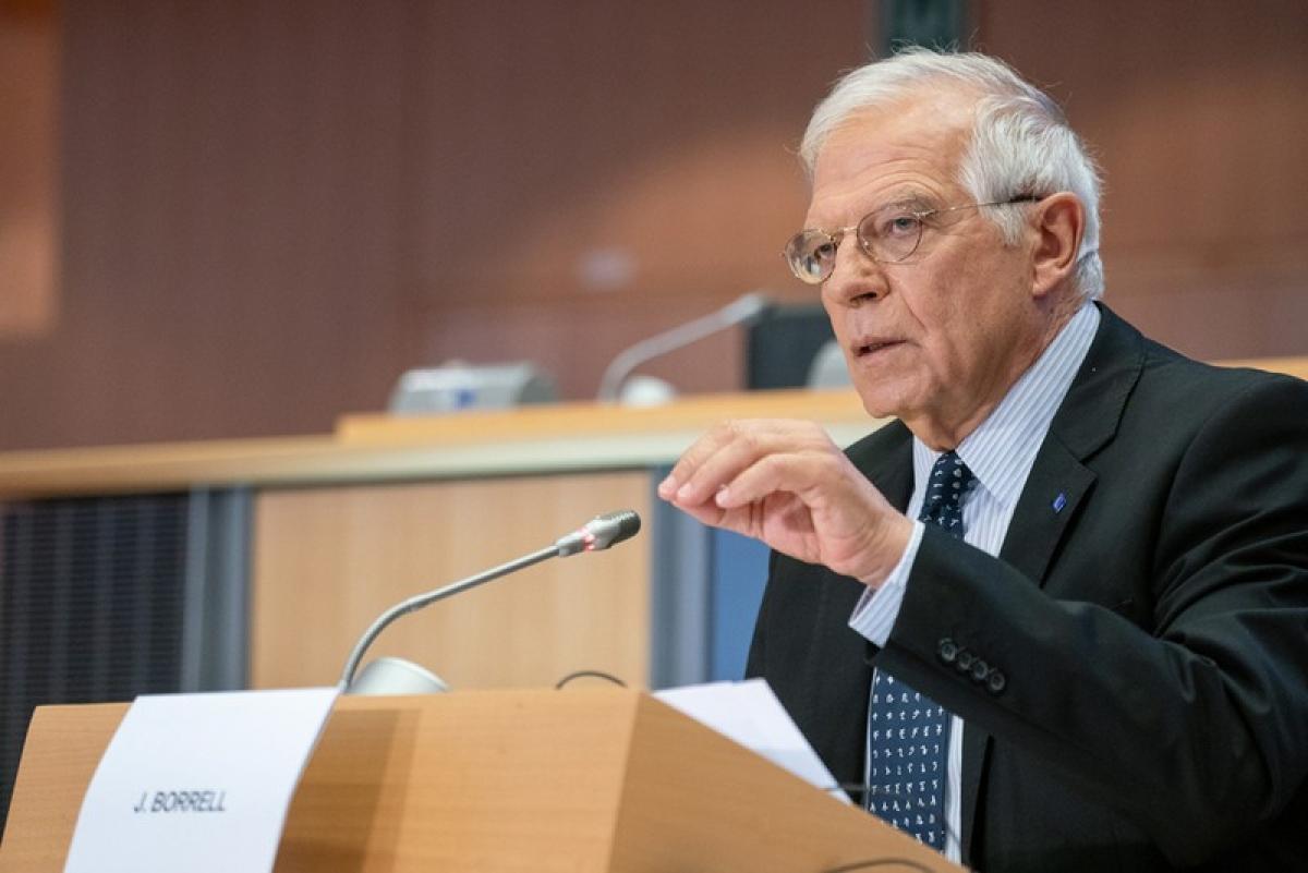 Đại diện cấp cao phụ trách chính sách an ninh và đối ngoại Liên minh châu Âu Joseph Borrell. (Ảnh: Europa.eu)
