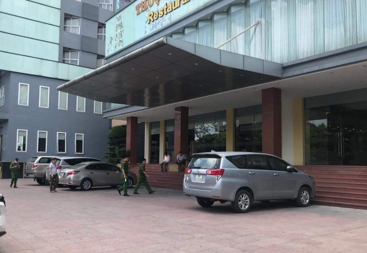 Khách sạn nơi xảy ra sự việc.