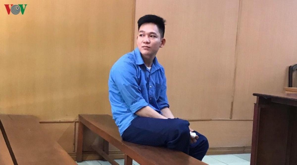 Bị cáo Phạm Thái Vinh tại tòa.