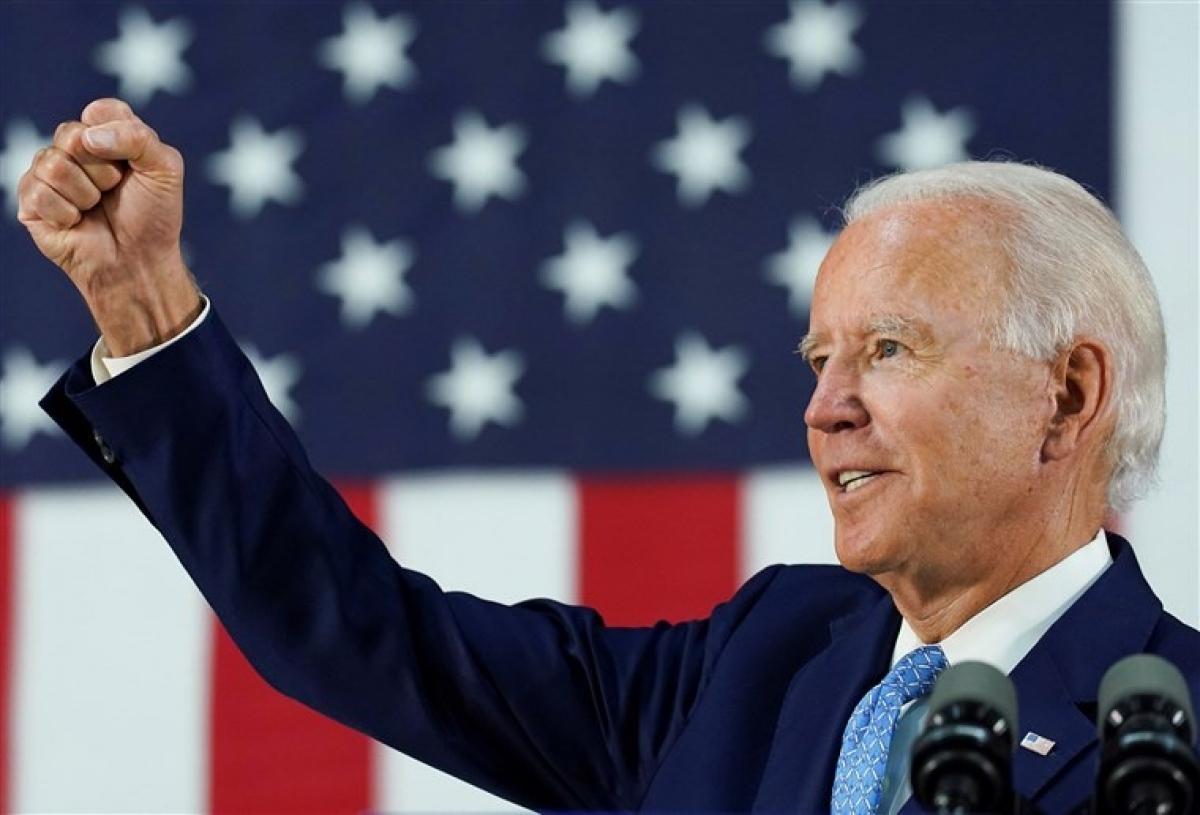 Ứng viên đảng Dân chủ Joe Biden. Ảnh: Reuters