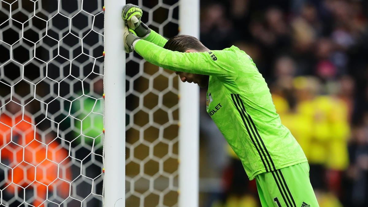 De Gea thi đấu không tốt ở mùa giải năm nay (Ảnh: Getty).