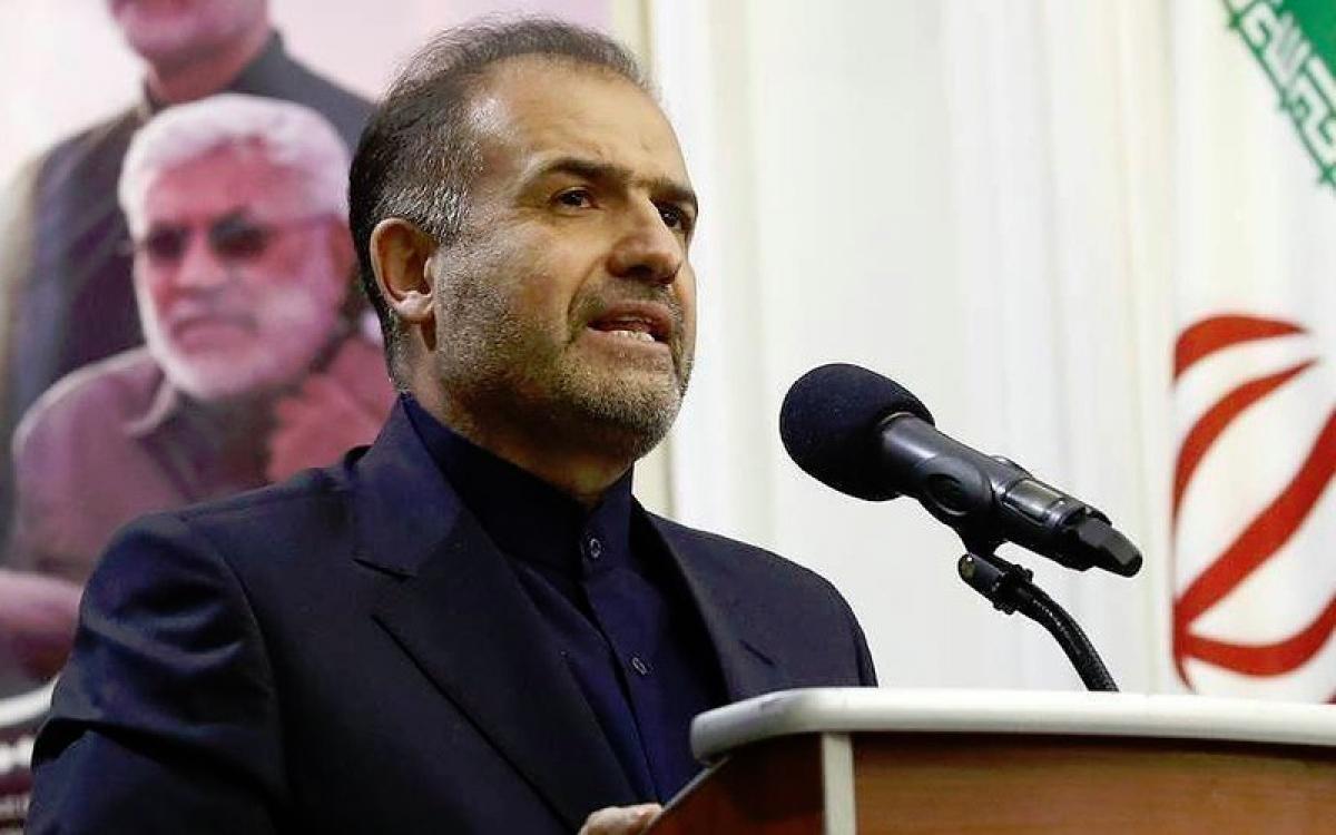 Đại sứ Iran Jalali. Ảnh: TASS.