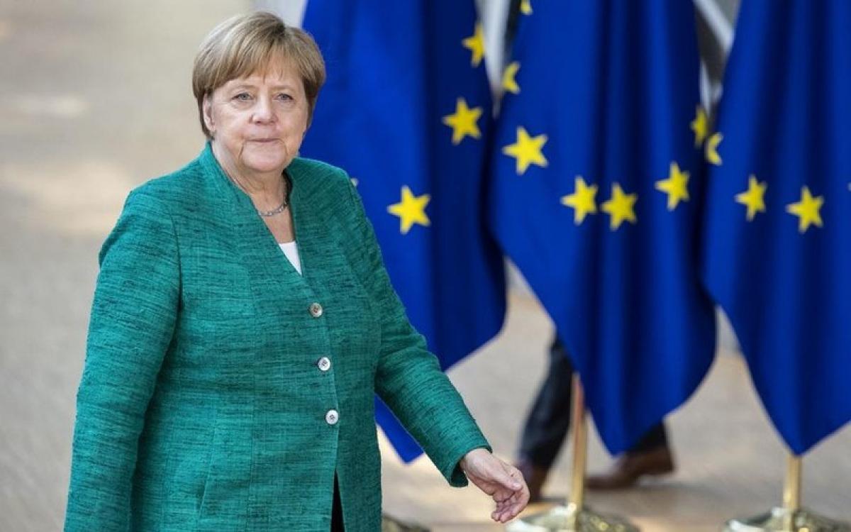 Thủ tướng Đức Merkel. Ảnh: DW.