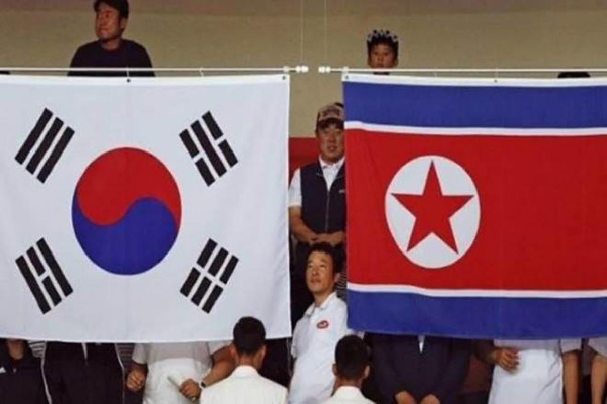 67 năm sau ngày ký kết Hiệp định đình chiến, quan hệ liên Triều về lý thuyết vẫn trong tình trạng chiến tranh với những sóng gió bất ngờ giữa 2 bên. Ảnh minh họa: Reuters