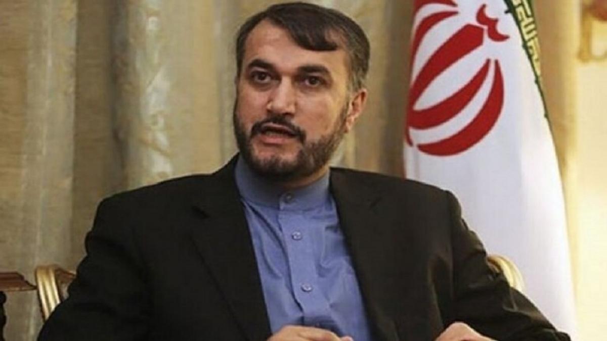 Trợ lý đặc biệt của Chủ tịch Quốc hội Iran về các vấn đề quốc tế Hossein Amir Abdallahian. Ảnh: RT