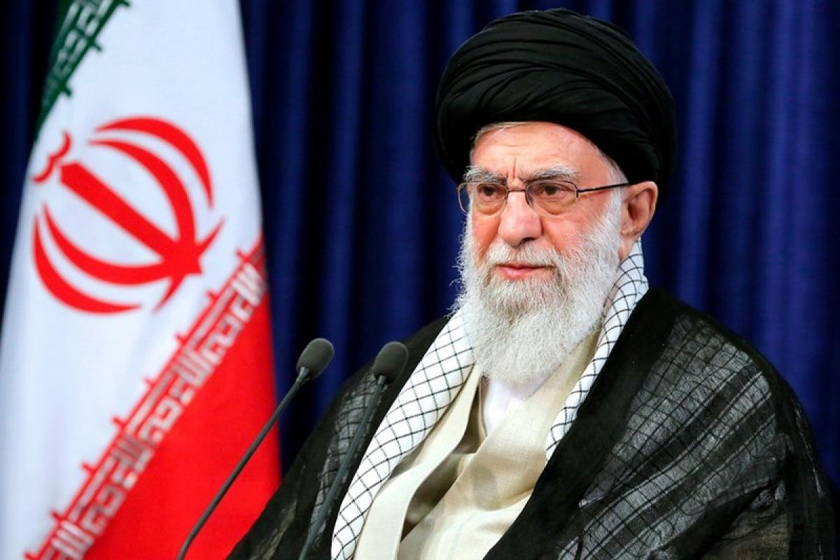 Nhà lãnh đạo tối cao Iran Ayatollah Ali Khamenei. Ảnh: AP