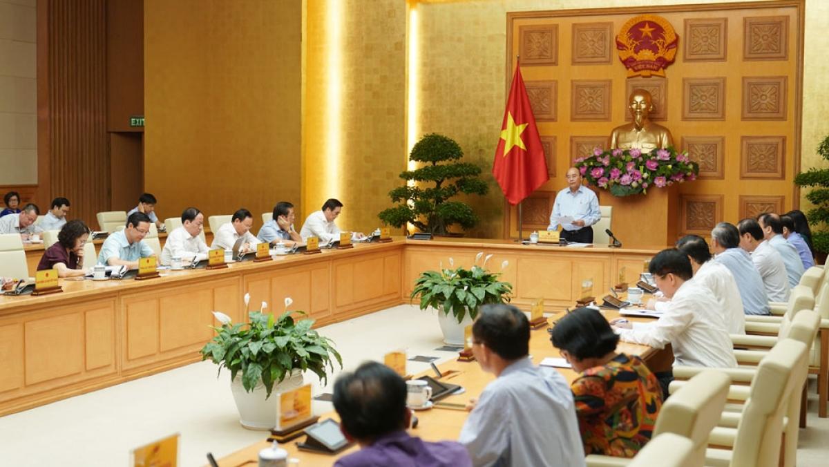 Thủ tướng Nguyễn Xuân Phúc chủ trì phiên họp