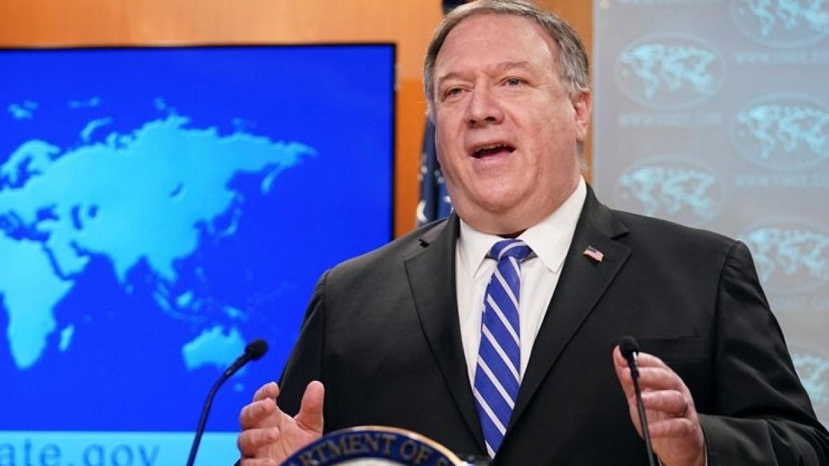 Ngoại trưởng Mỹ Mike Pompeo. Ảnh: Reuters