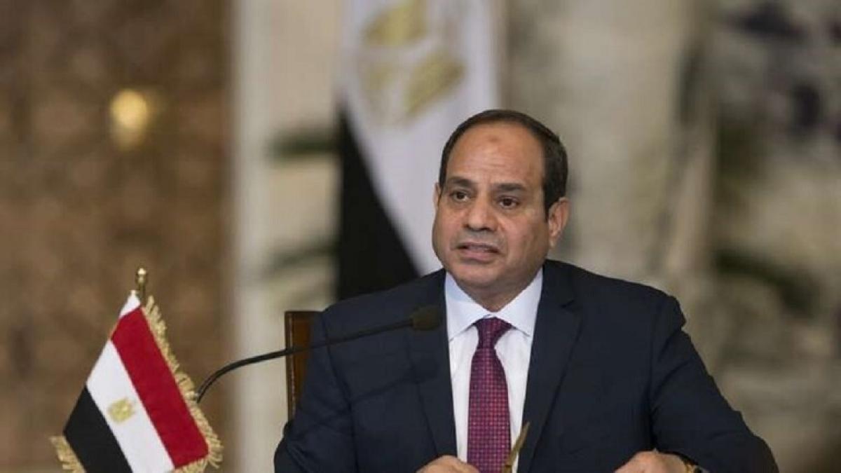Tổng thống Ai Cập Abdel-Fattah El-Sisi. Ảnh Reuters.
