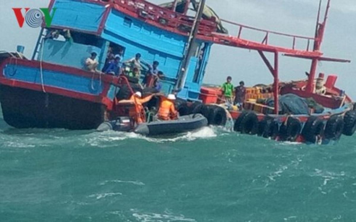 Bộ Chỉ huy Bộ đội Biên phòng tỉnh Quảng Nam cho biết, đơn vị đang rà lại ra-đa để truy tìm tàu hàng đâm chìm tàu cá ngư dân. Ảnh minh họa.