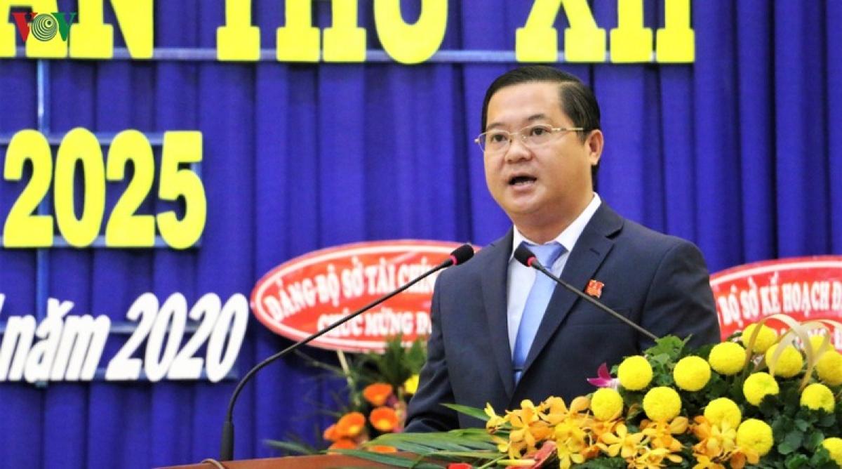 Ông Huỳnh Quốc Thái được tín nhiệm bầu giữ chức Bí thư Thị ủy Tân Châu (nhiệm kỳ 2020 – 2025).
