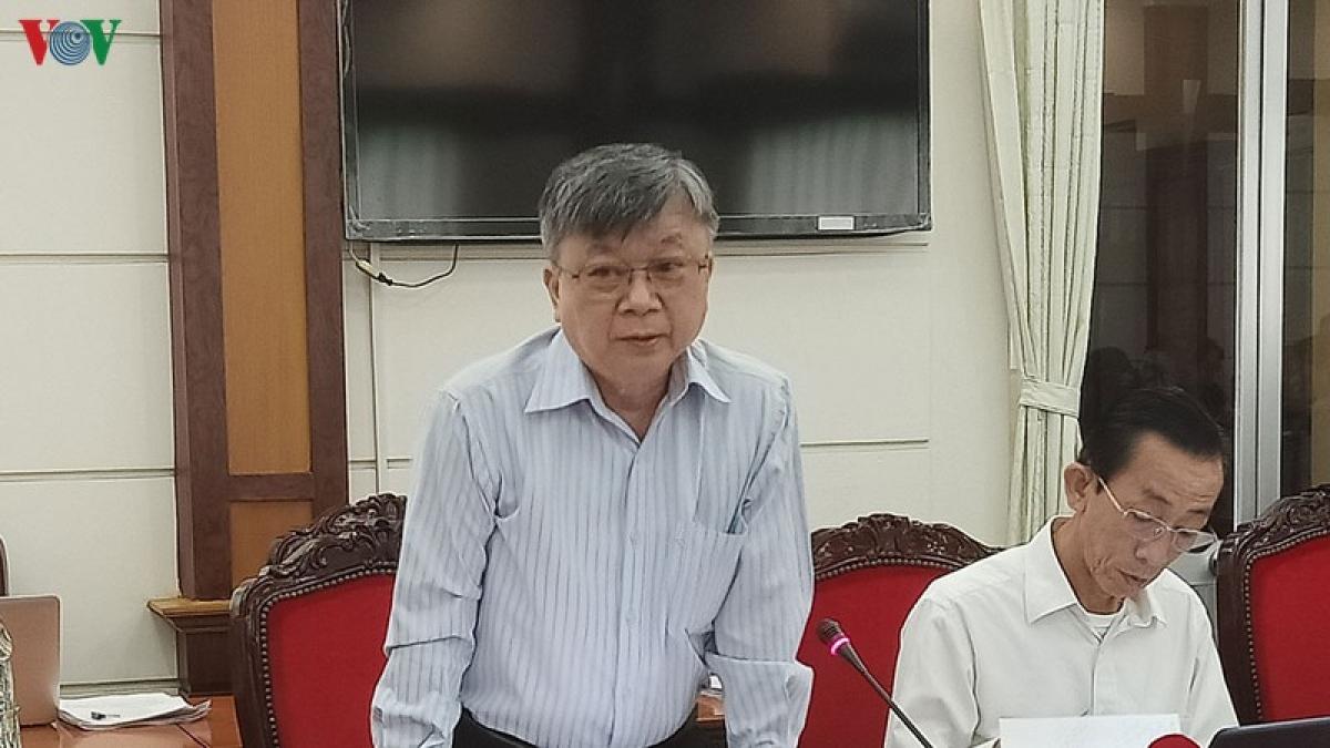 Đại biểu Trương Trọng Nghĩa.