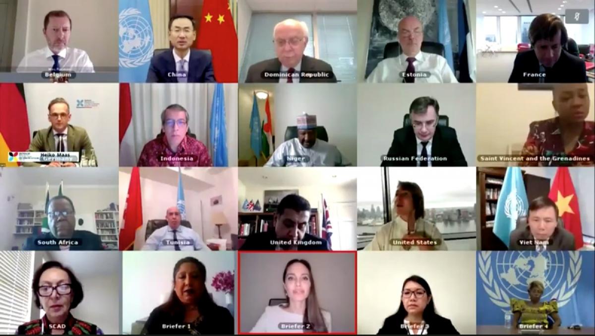 Hội đồng Bảo an thảo luận mở về Phụ nữ, hòa bình và an ninh - Bạo lực tình dục trong xung đột.