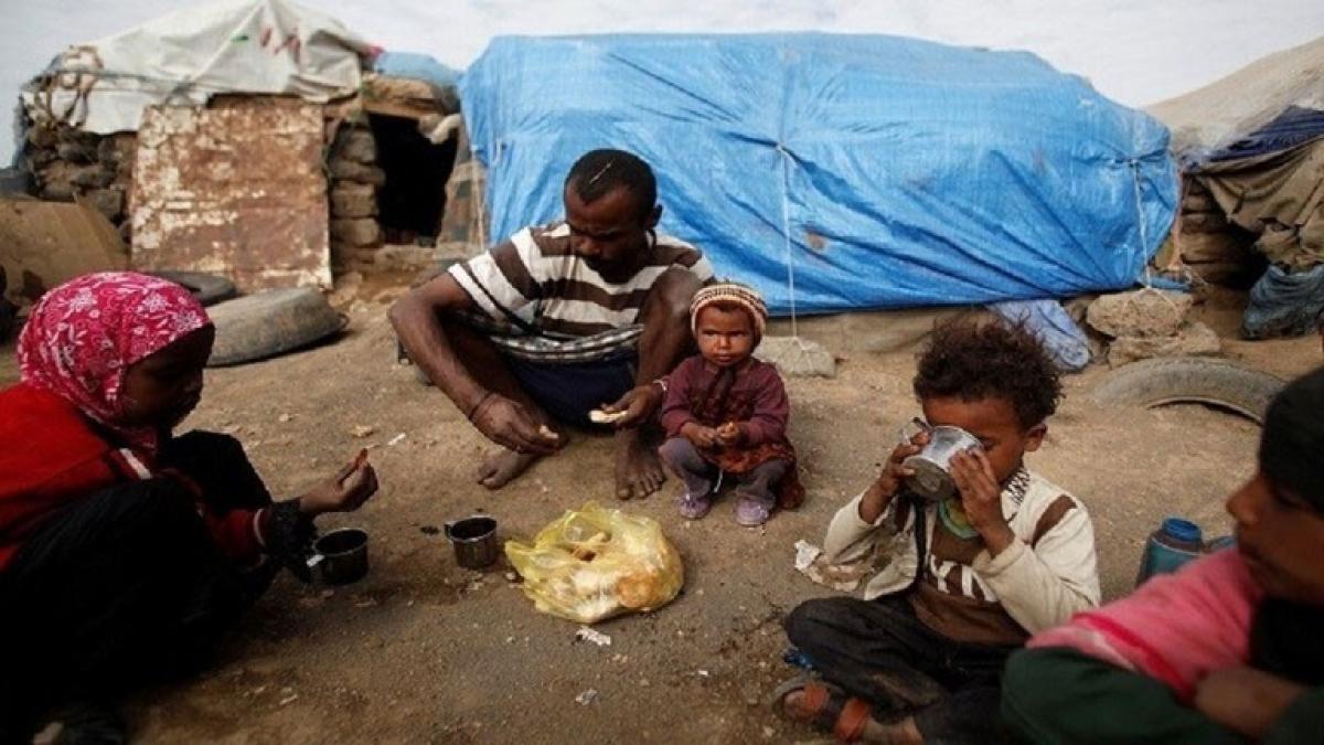 Liên Hợp Quốc cảnh báo về nạn đói mới ở Yemen - Ảnh Reuters.