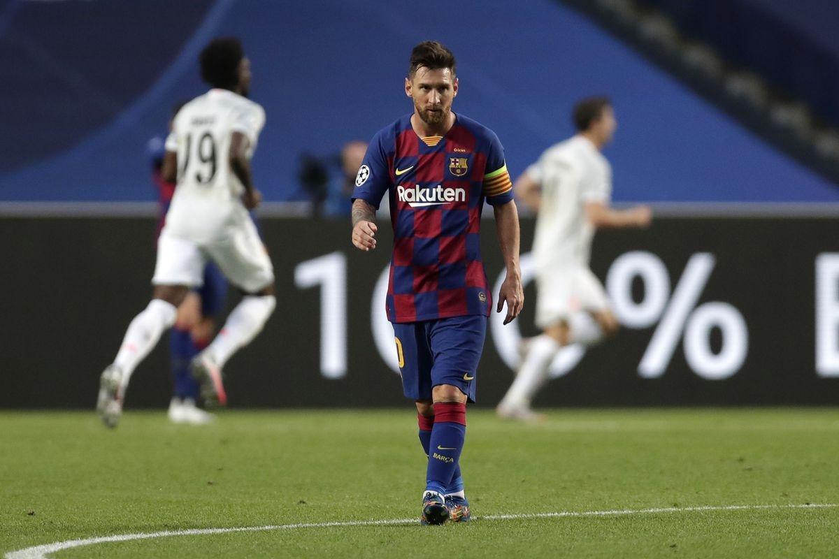 Ngoài vài khoảnh khắc lóe sáng, Lionel Messi hoàn toàn bất lực trước Bayern Munich.