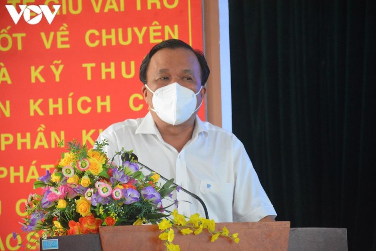 Đại diện Sở Y tế Quảng Nam gửi lời cảm ơn đoàn y, bác sỹ tham gia điều trị Covid-19.