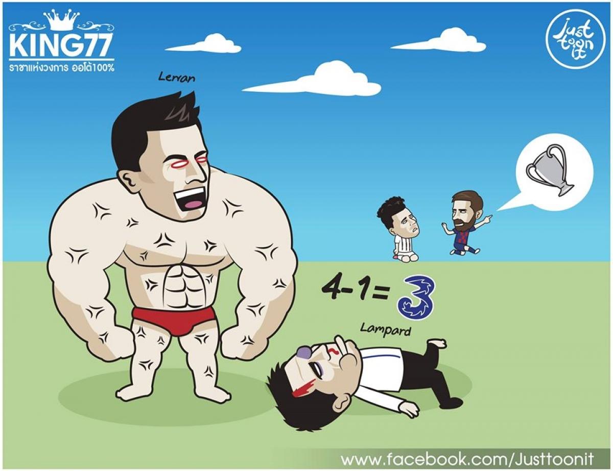 Robert Lewandowski tỏa sáng giúp Bayern nghiền nát Chelsea.