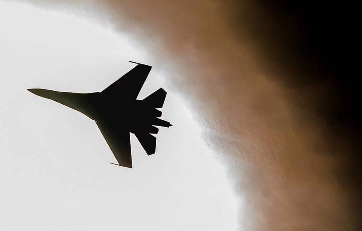 Chiến đấu cơ Su-27 của Nga. Ảnh: TASS.