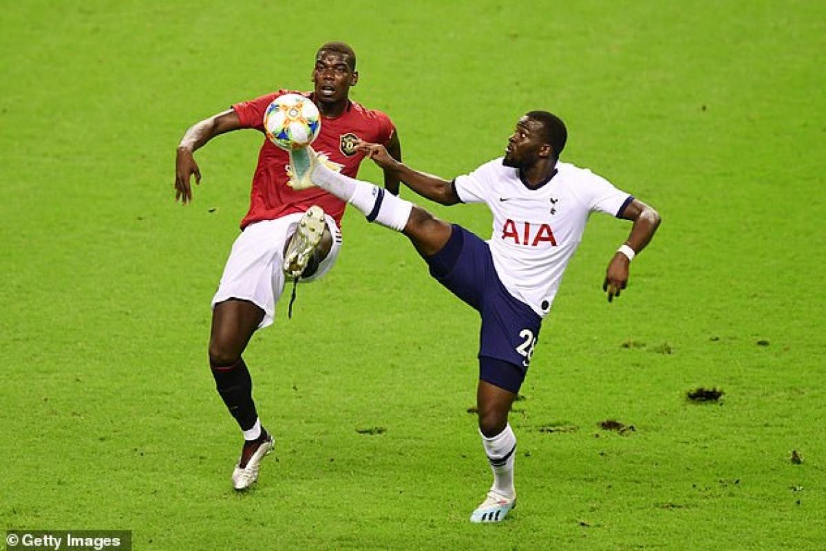 Paul Pogba và Tanguy Ndombele đều mắc Covid-19. (Ảnh: Getty)