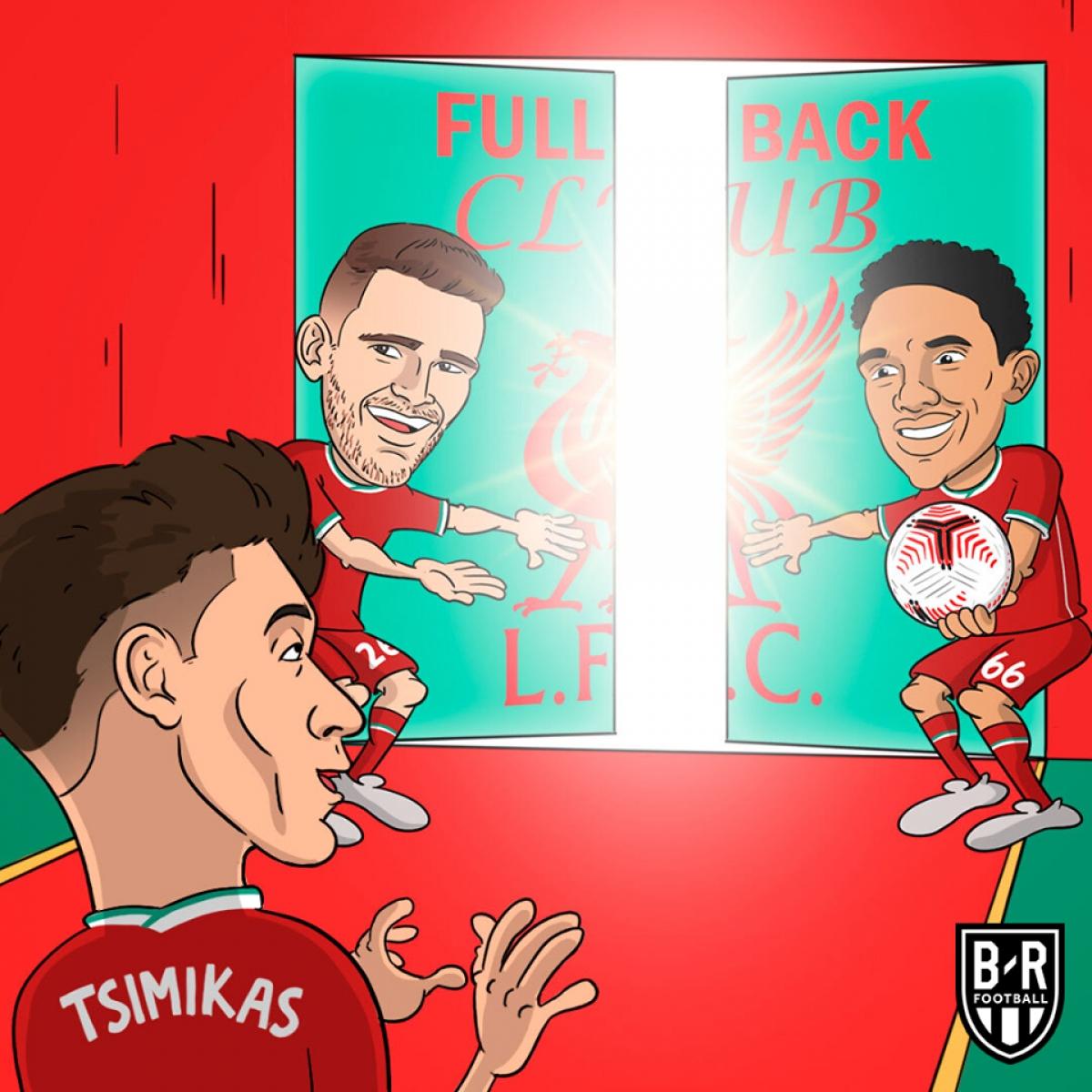 Nhà vô địch Premier League 2019/2020 đã chiêu mộ thành công hậu vệ người Hy Lạp - Konstantinos Tsimikas với bản hợp đồng có thời hạn 5 năm.