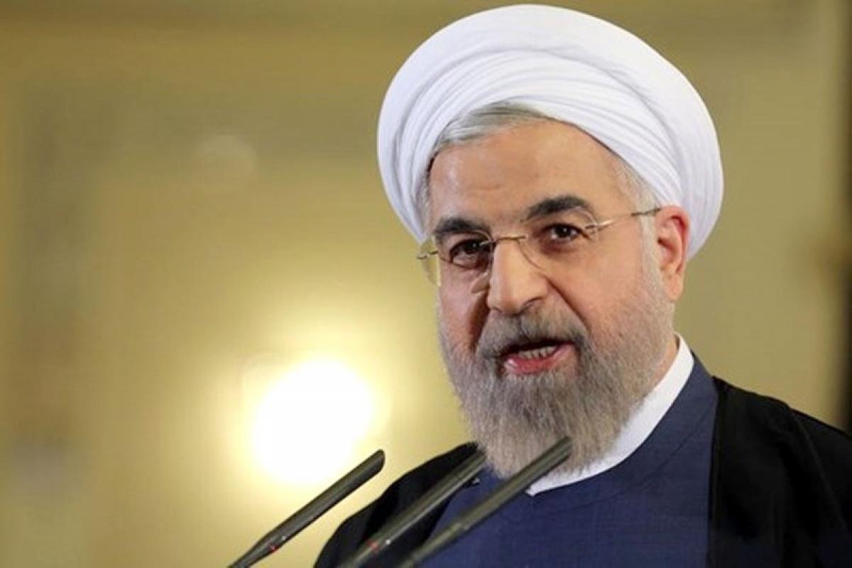 Tổng thống Iran, tên lửa mới chế tạo để phòng vệ, không phải gây hấn. (Ảnh: Reuters)