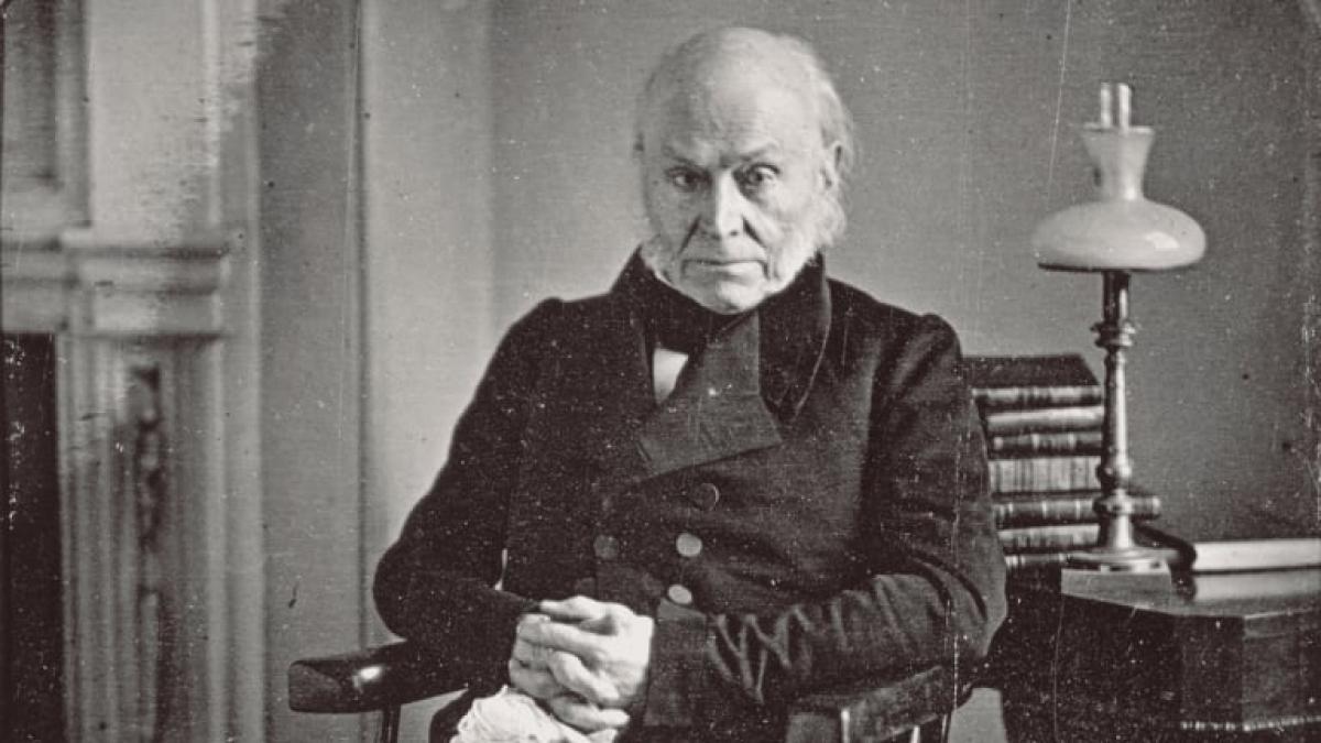 Tổng thống John Quincy Adams. Ảnh: History
