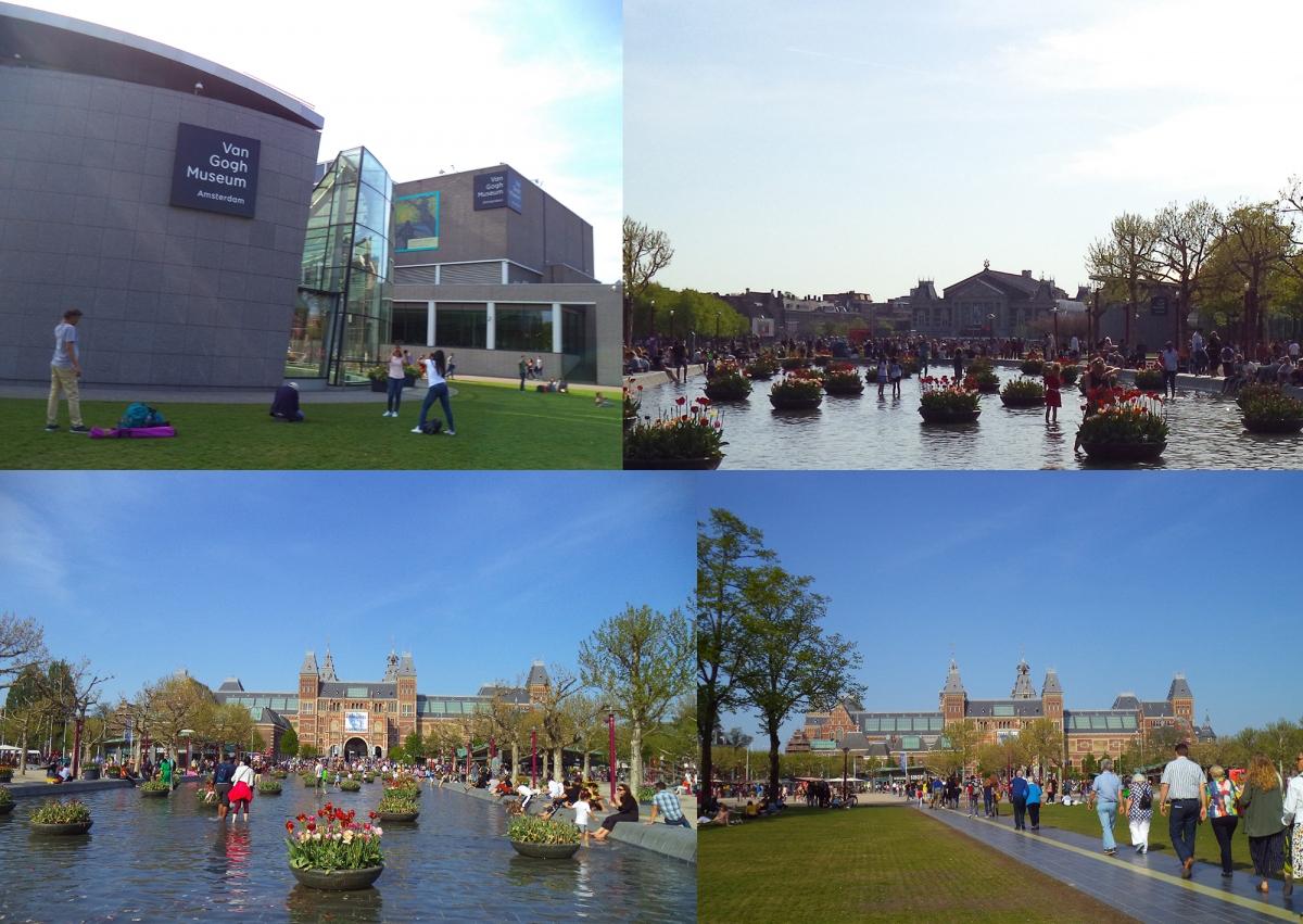 Amsterdam là thành phố của những viện bảo tàng với khoảng 70-80 bảo tàng. Trong đó nổi bật là bảo tàng Rijksmuseum: Bảo tàng Quốc gia về lịch sử và nghệ thuật, được xây dựng và mở cửa đón khách từ cuối thế kỷ 19, đây là bảo tàng số 1 của Hà Lan và xếp hạng 19 toàn cầu. Và không thể không nhắc tới bảo tàng Van Gogh: nơi trưng bày hơn 700 tác phẩm hội hoạ của danh hoạ, theo trường phái hậu ấn tượng.