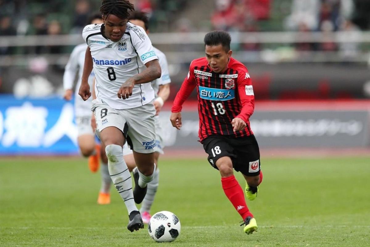 Chanathip hiện đang dẫn đầu danh sách kiến tạo ở J-League 2020. (Ảnh: J-League).