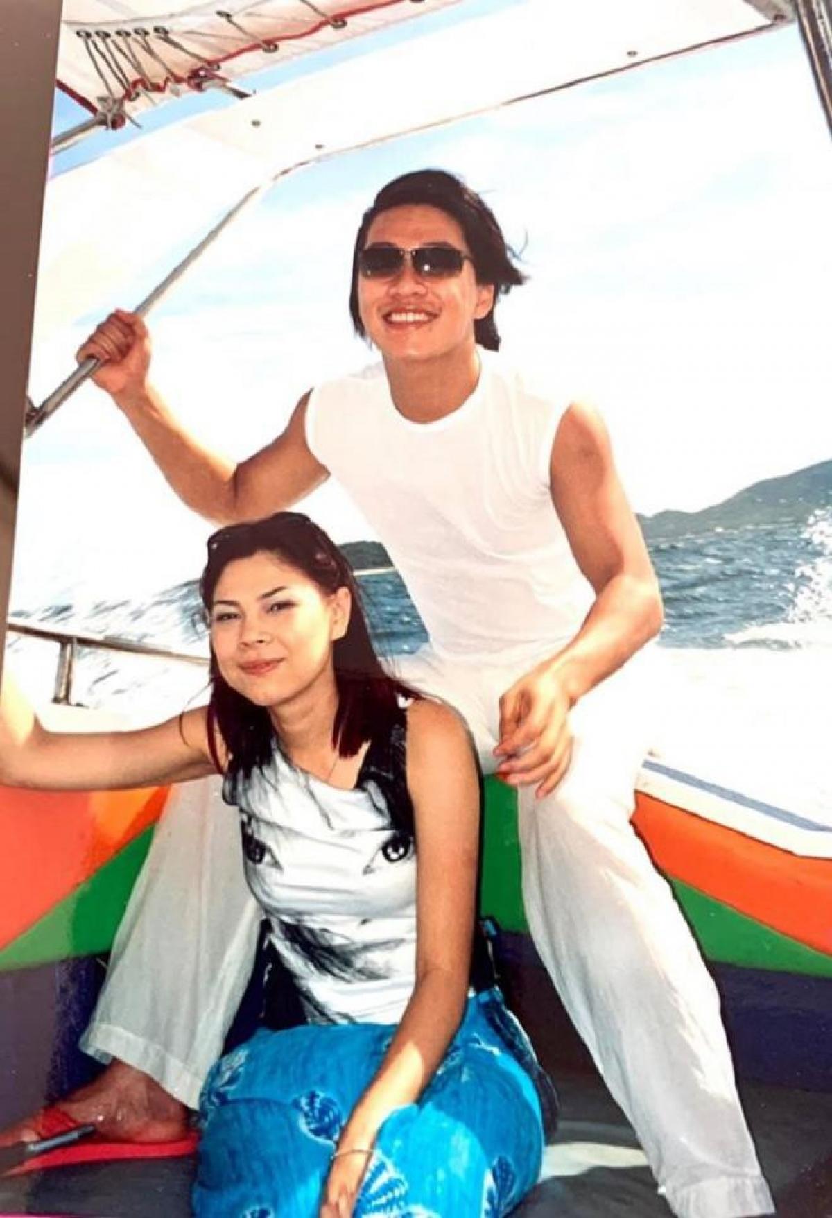 Thanh Thảo và rapper Tiến Đạt.