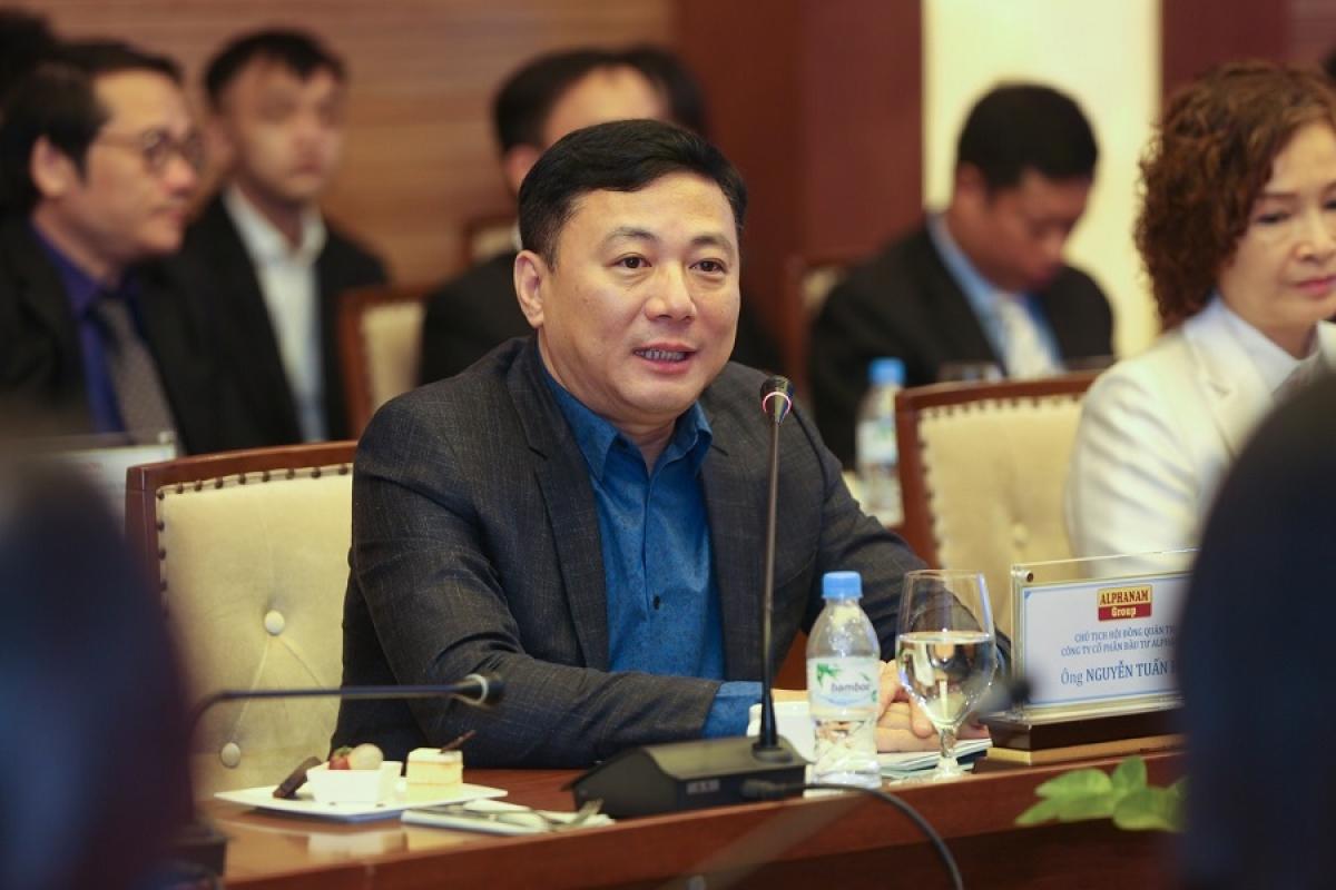 Ông Nguyễn Tuấn Hải – Chủ tịch HĐQT Tập đoàn Alphanam