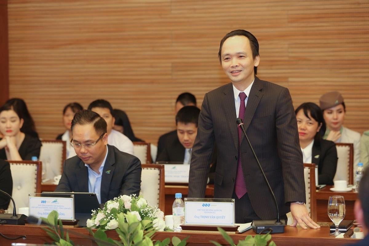 Ông Trịnh Văn Quyết – Chủ tịch HĐQT Tập đoàn FLC