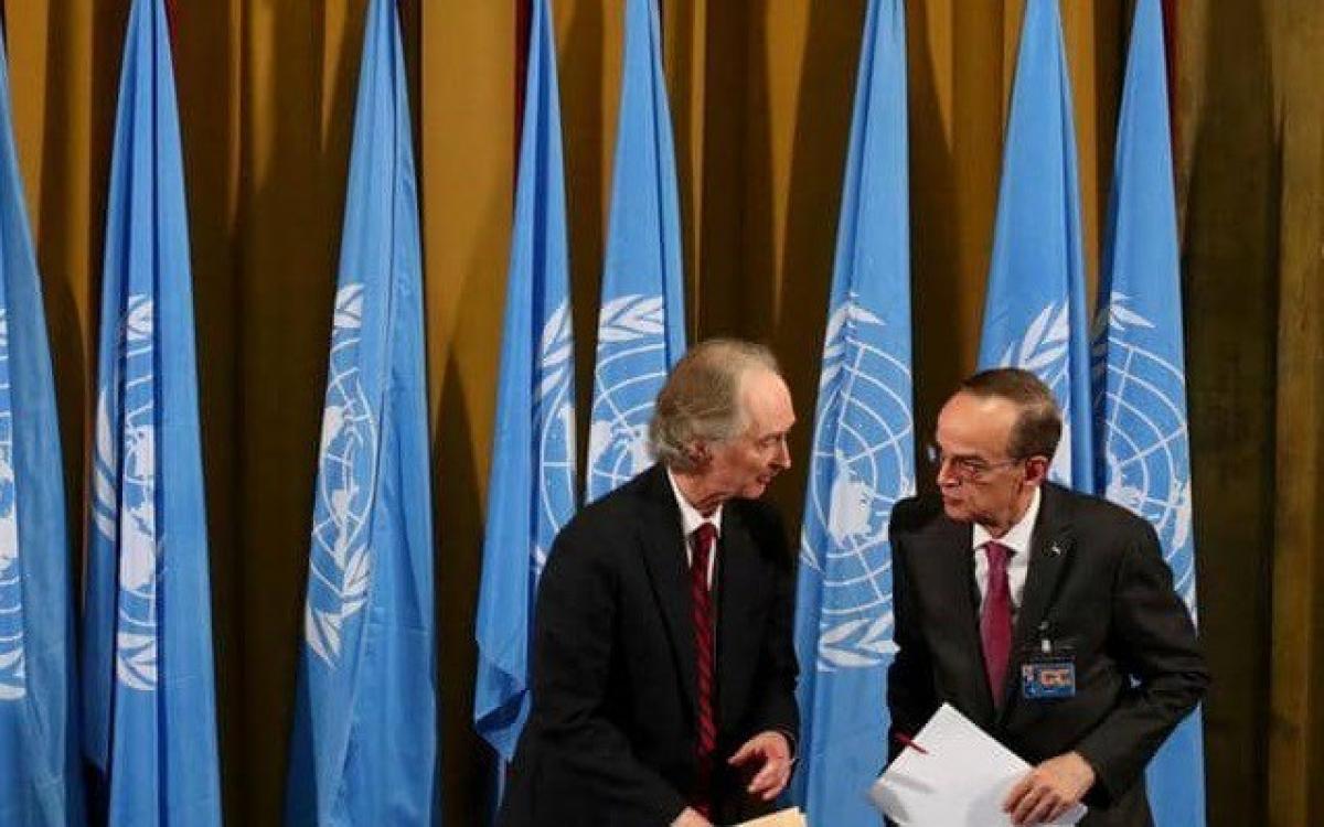 Vòng đàm phán thứ ba về hiến pháp Syria tại LHQ không đạt được kết quả. Ảnh: Reuters.