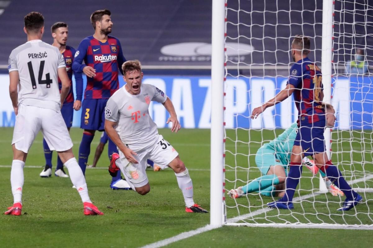 Bayern Munich khiến Barca nhận thất bại nặng nề nhất trong vòng 71 năm qua.