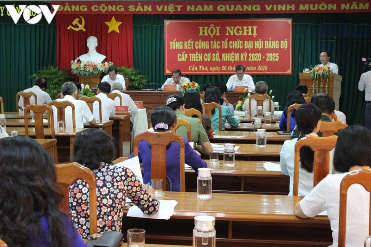 14 đảng bộ cấp trên cơ sở ở Cần Thơ đã hoàn thành đại hội.