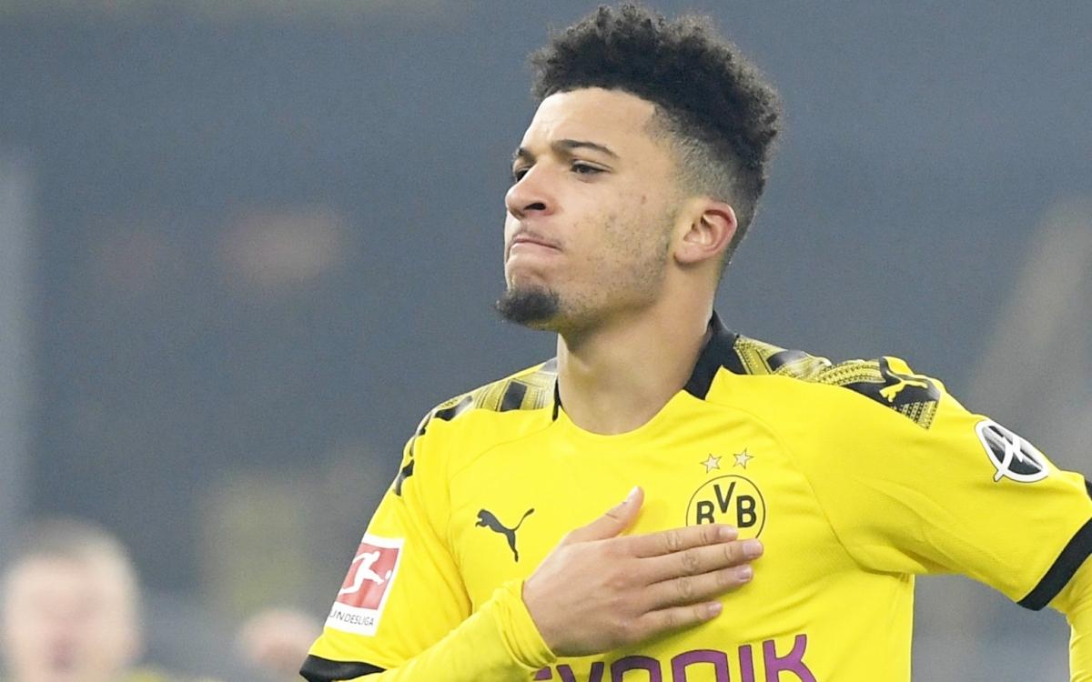 Sancho được cho là đã gia hạn hợp đồng với Dortmund tới mùa hè 2023 (Ảnh: Getty).