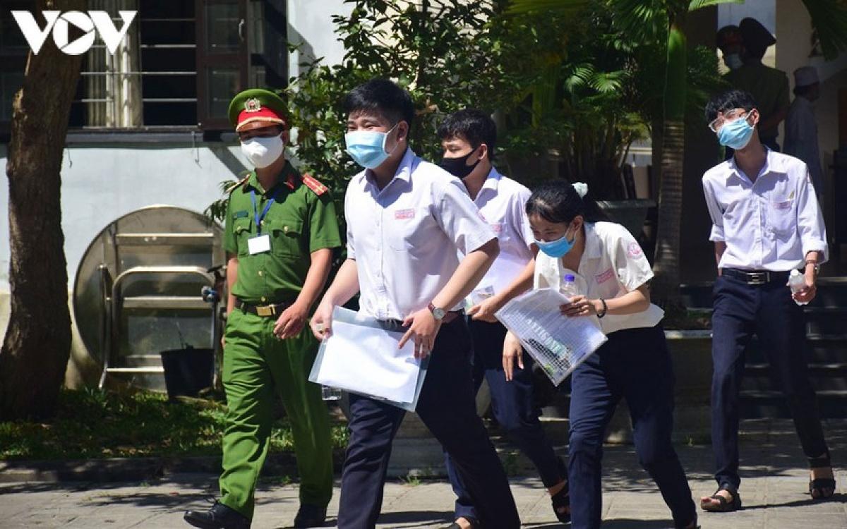 Quảng Nam rà soát kỹ cán bộ coi thi THPT năm 2020 đợt 2.