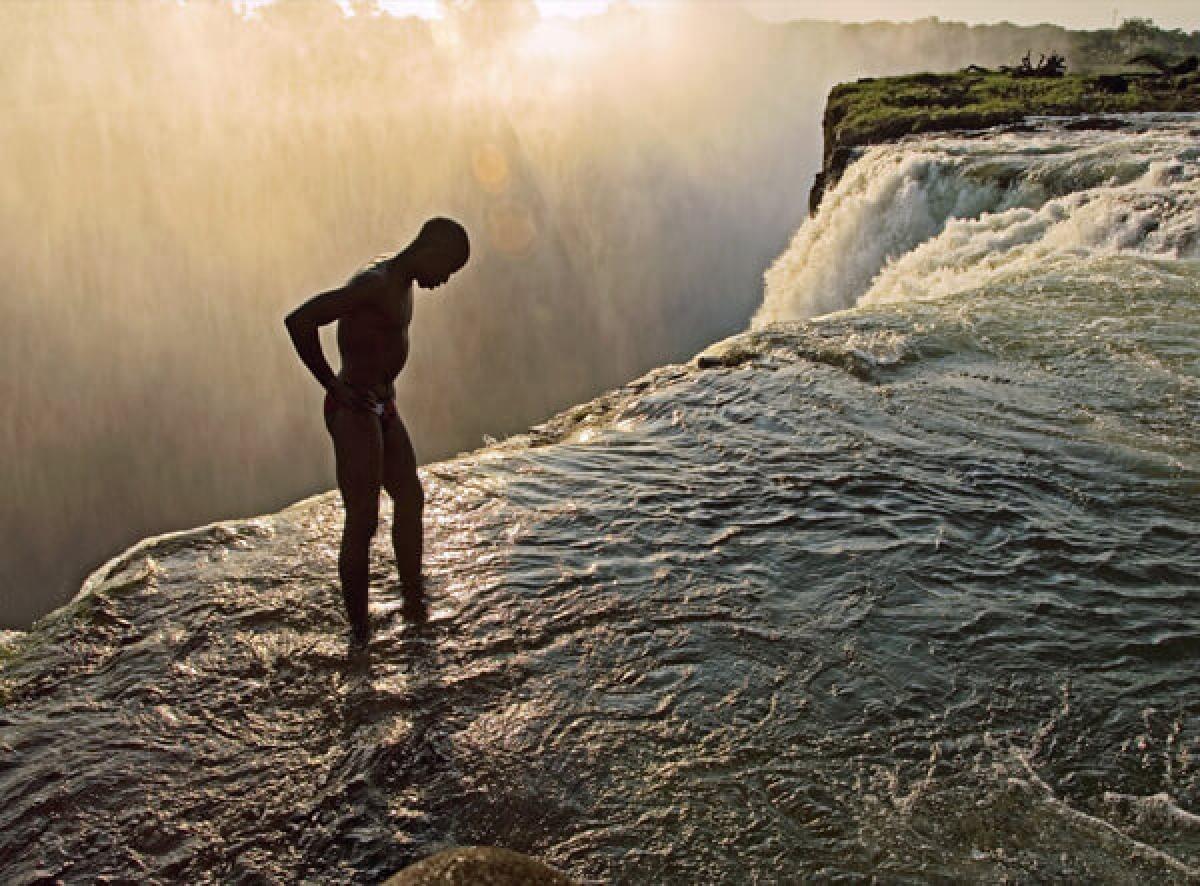 Hồ bơi Quỷ dữ, Zimbabwe