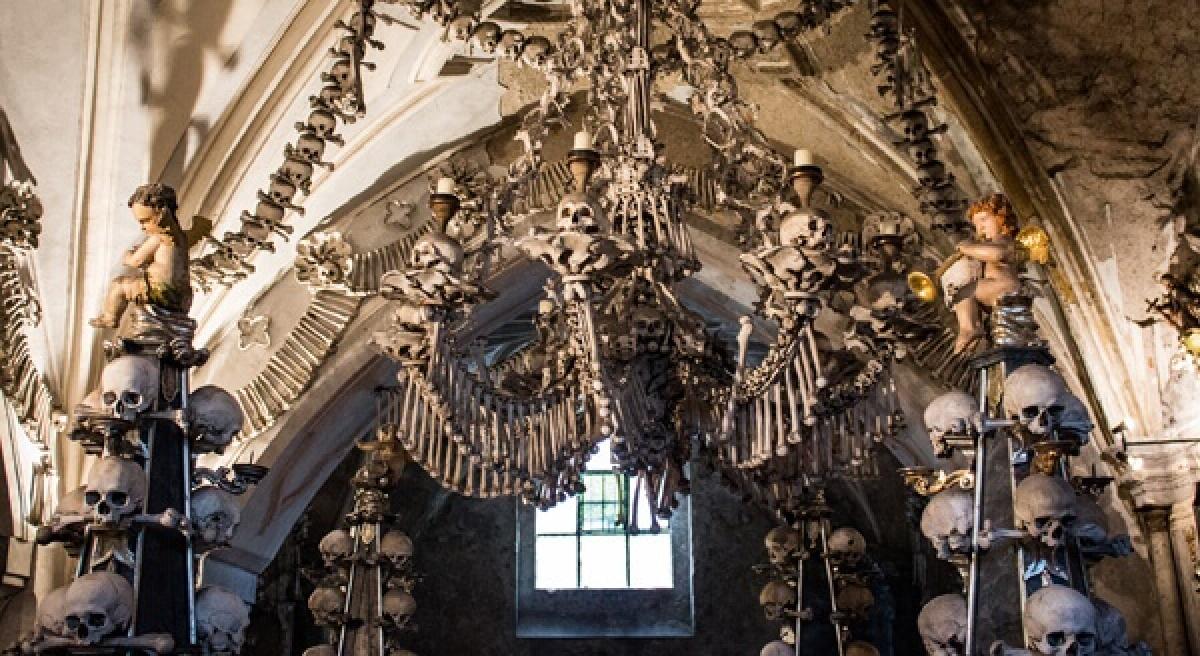 Nhà thờ xương người, Séc