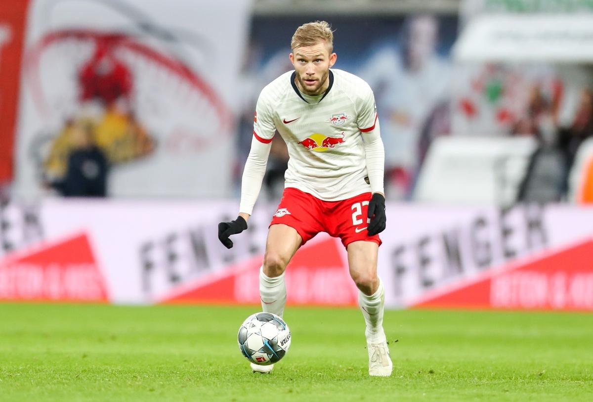 Tiền vệ trung tâm: Konrad Laimer
