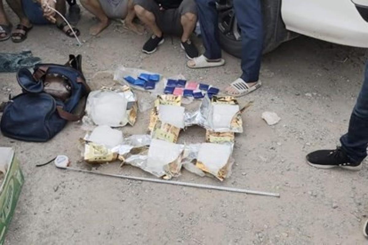Một đường dây ma túy bị triệt phá tại Hà Nội.
