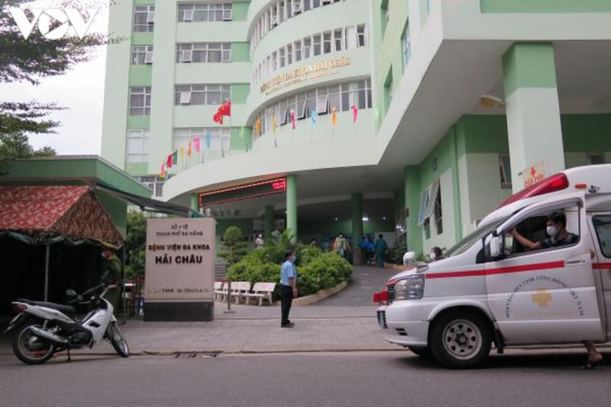 Bệnh viện Hải Châu gỡ bỏ phong tỏa cách ly lúc 16h30 chiều ngày 19/8.