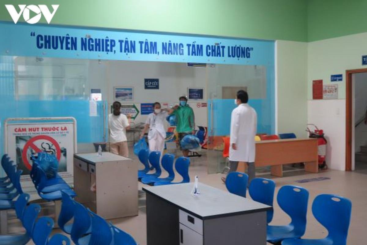 Sau khi hết cách ly,Bệnh viện Hải Châu sẽ tiếp đón bệnh nhân sẽ trở lại