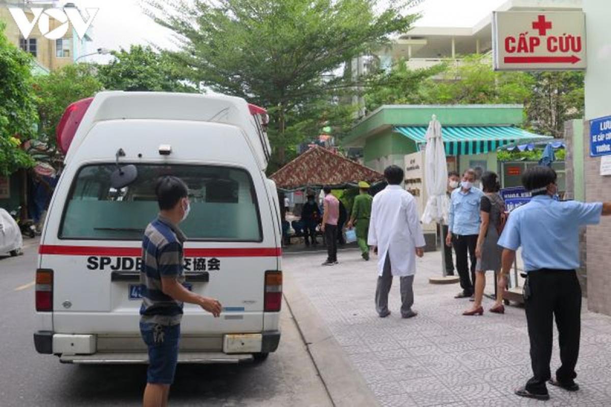 Việc tiếp nhận bệnh nhân khám chữa bệnh đã bắt đầu trở lại từ cuối ngày 19/8