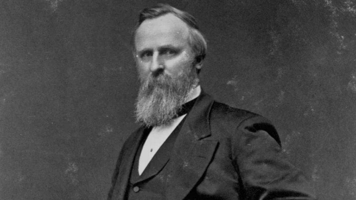 Tổng thống Rutherford B. Hayes. Ảnh: History