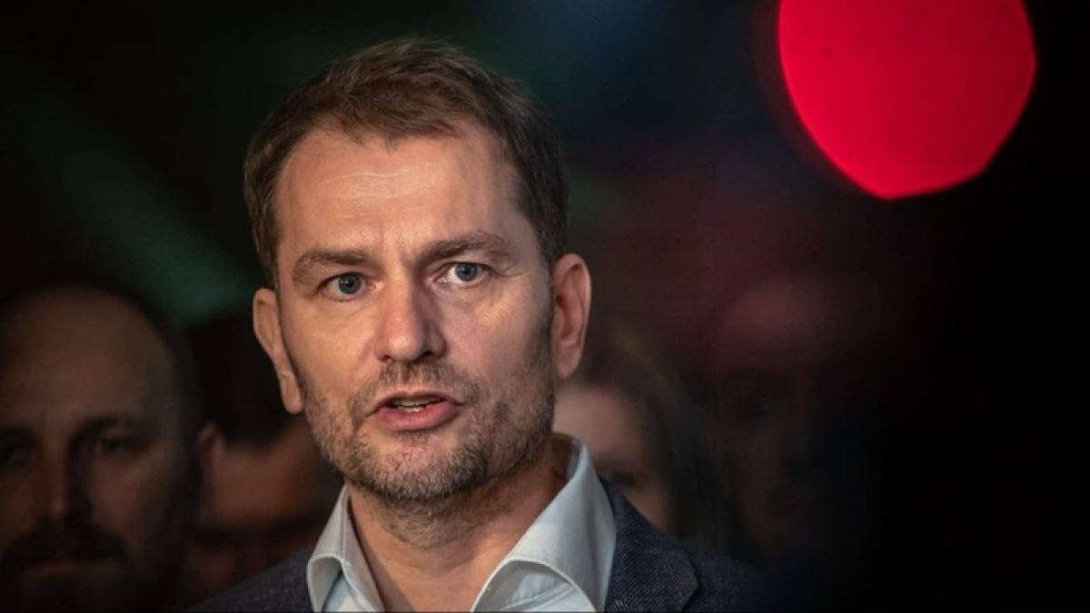 Thủ tướng Slovakia Igor Matovič. Ảnh: Balkan Insight